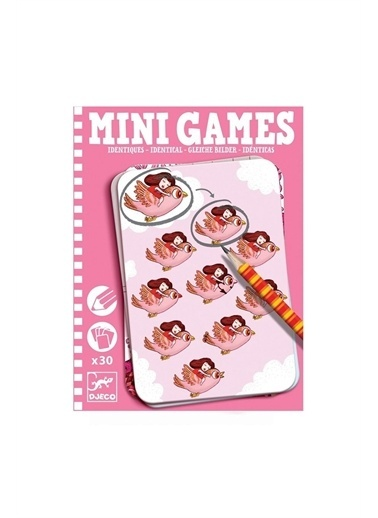 Djeco Djeco Mini Oyunlar /  Identical By Alice Pembe